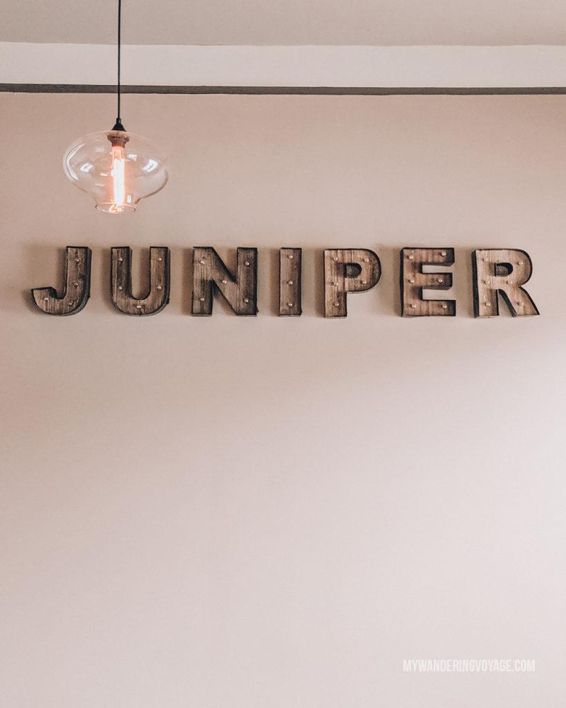 Juniper Dining Co, Paris, Ontario