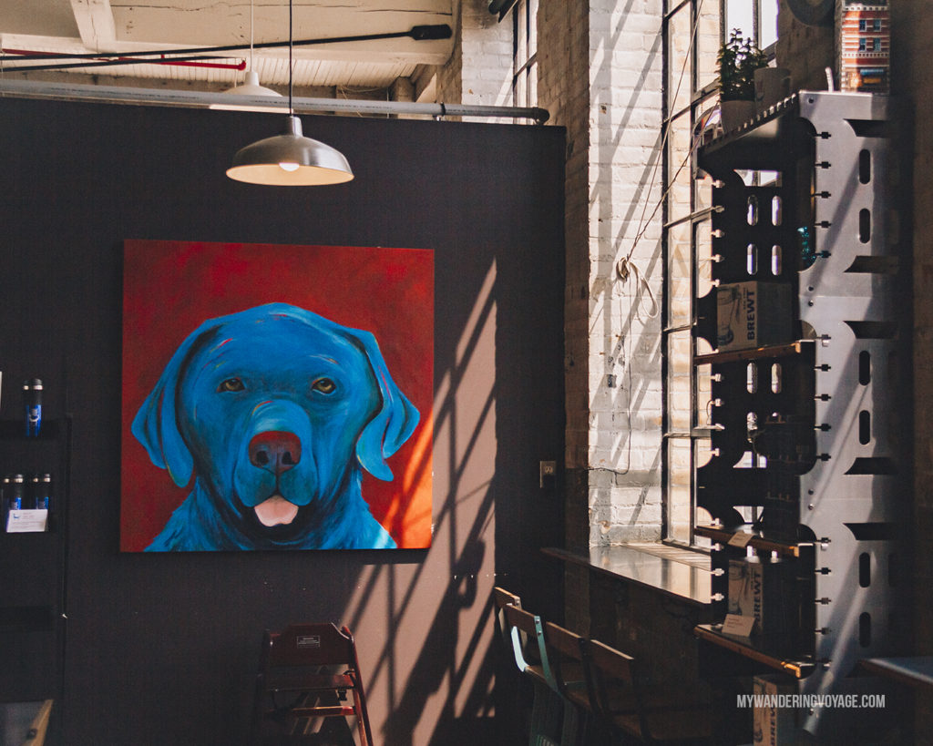 Blue Dog Cafe, Paris, Ontario