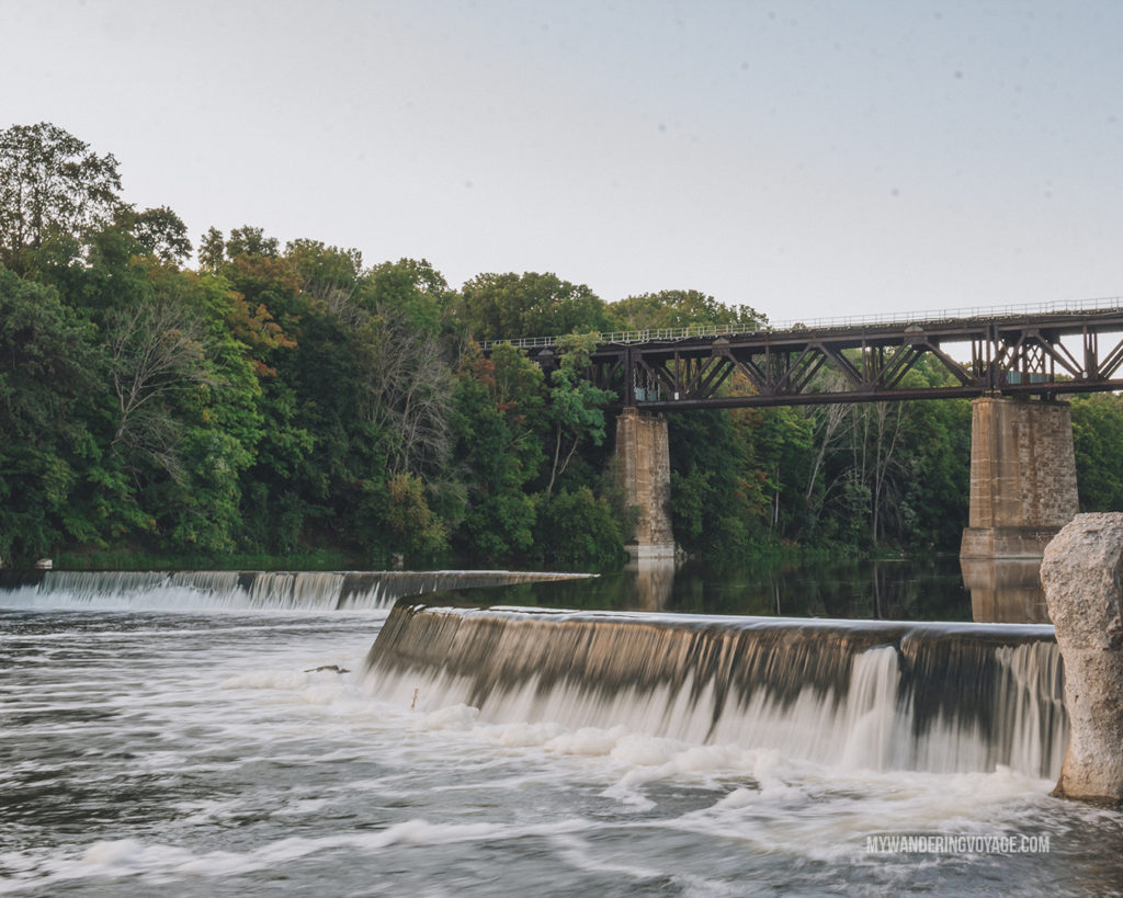 Penman's Dam in Paris, Ontario