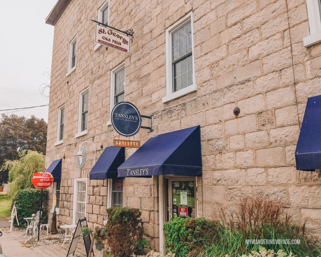Tansley Cafe in St. George, Ontario