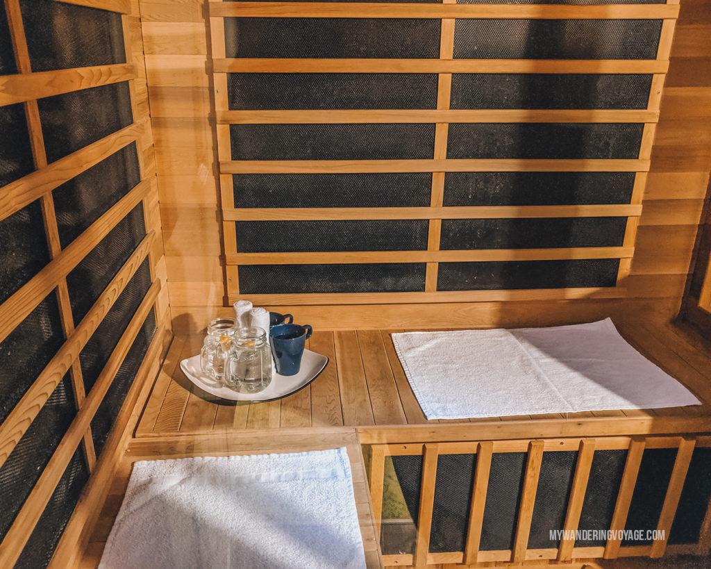 grand wellness centre infrared sauna
