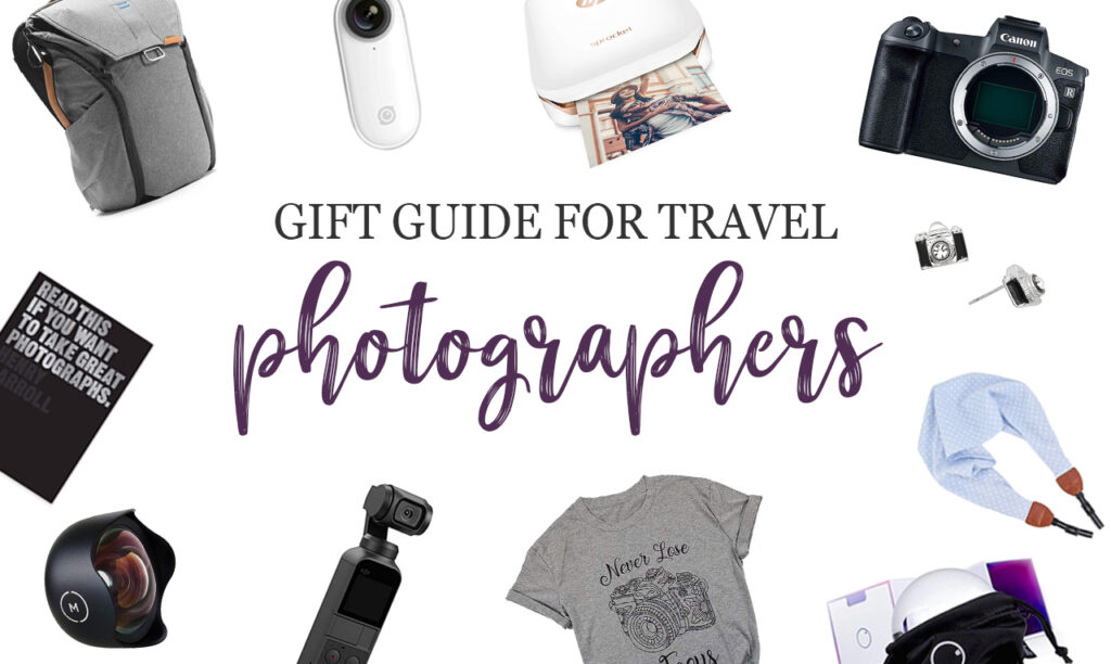 Gift guide for travel photographers