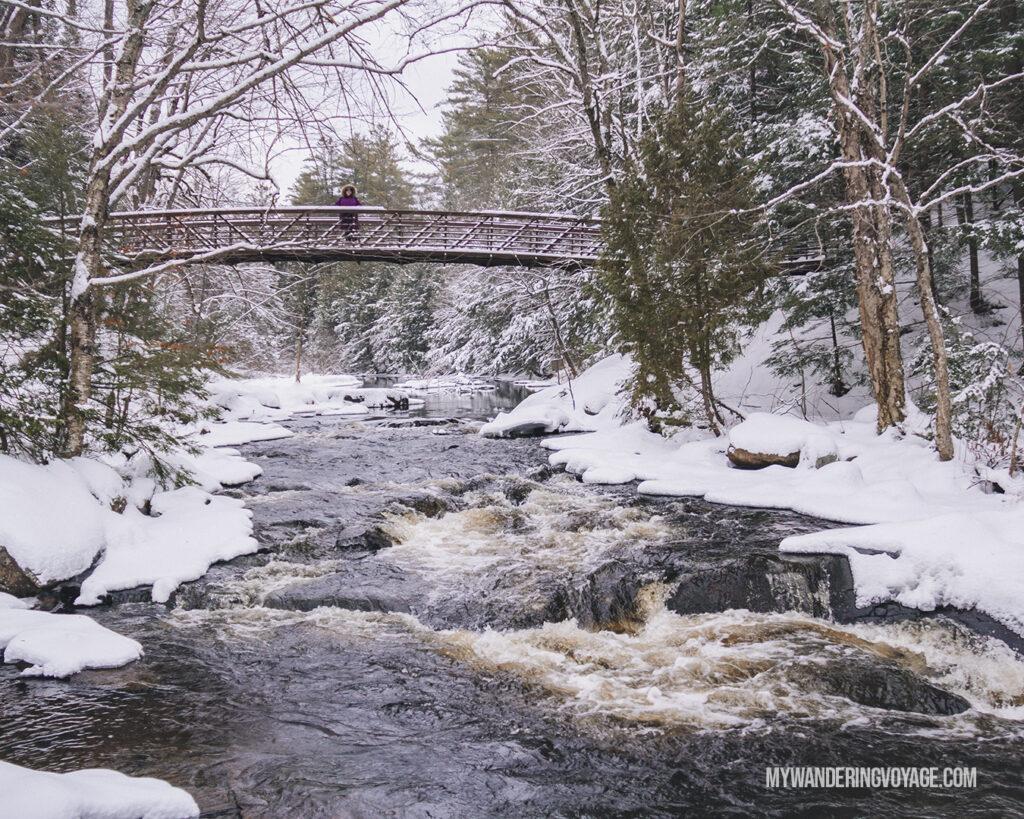 Stubb's Falls at Arrowhead Provincial Park