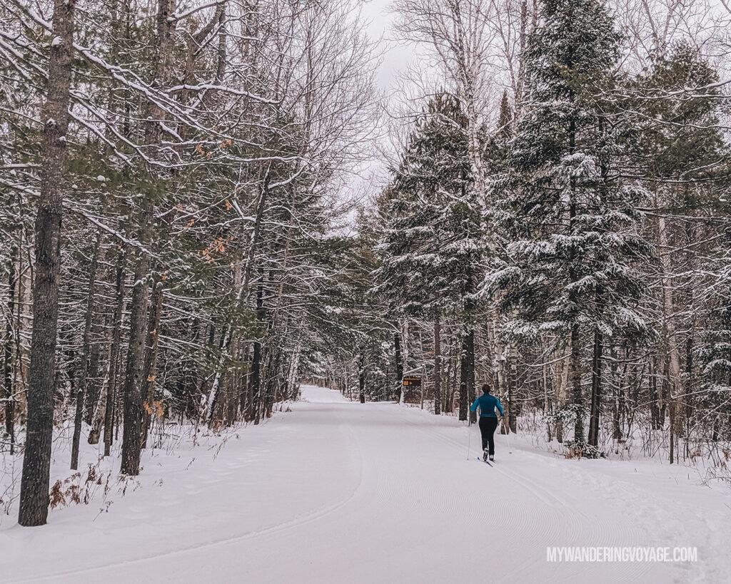 Skiing at Arrowhead Provincial Park
