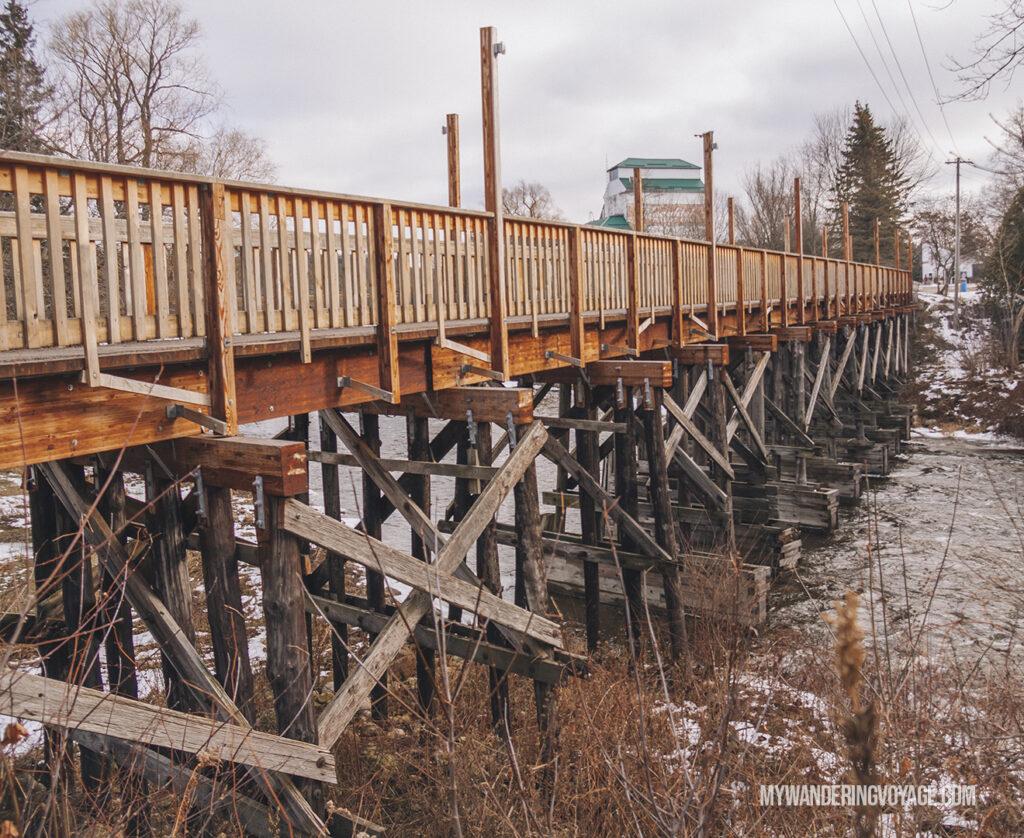 Historic trestle bridge in Durham | Best scenic bridges in Ontario