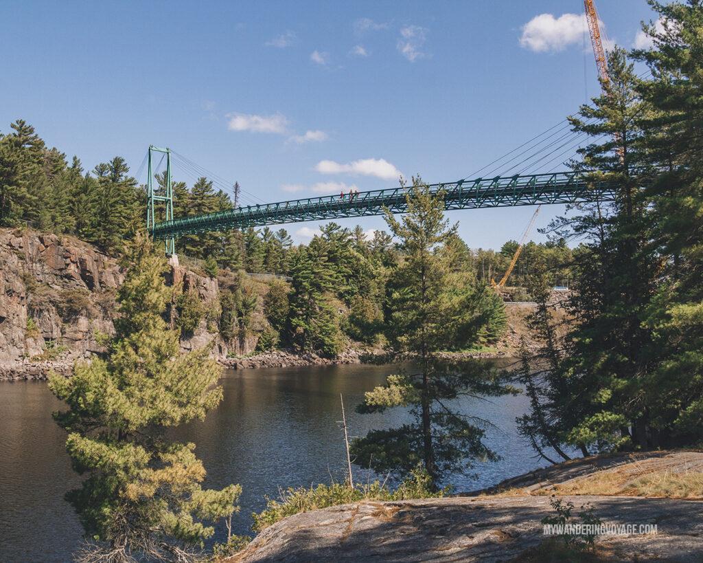 French River provincial Park bridge | Best scenic bridges in Ontario