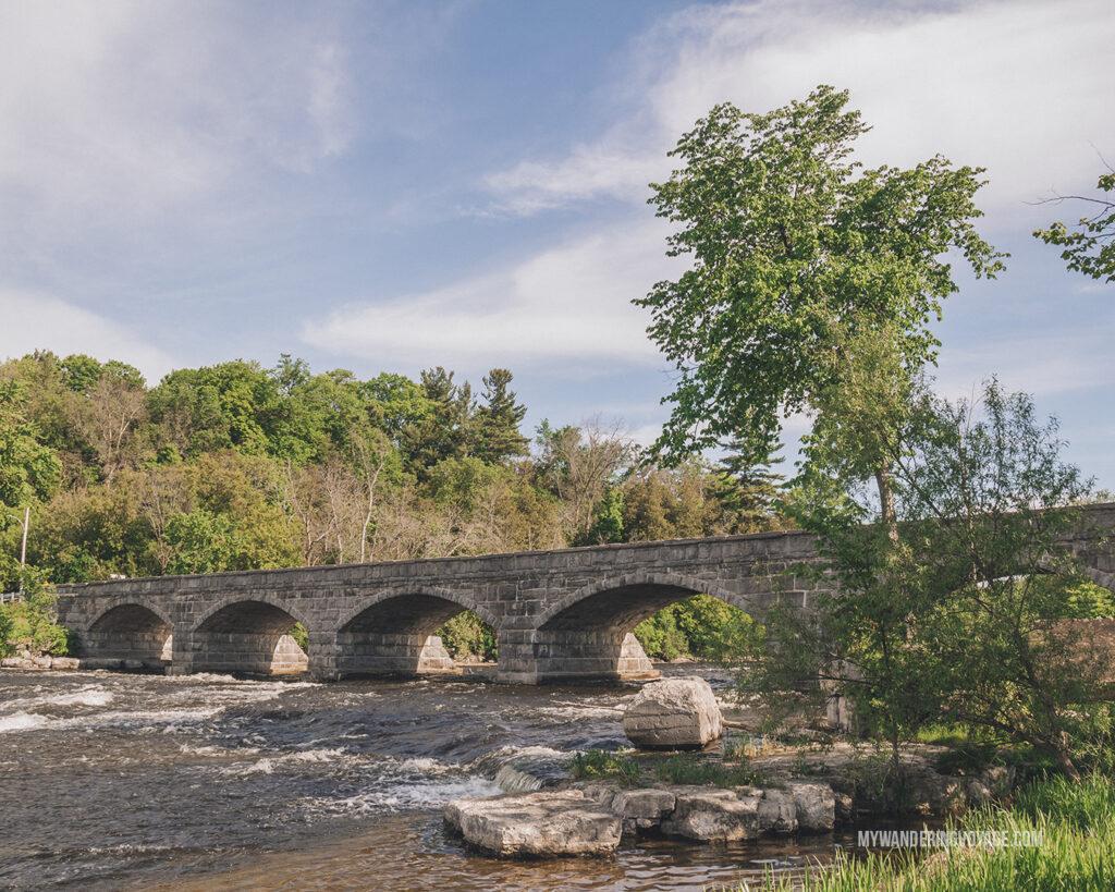Five span bridge in Pakenham | Best scenic bridges in Ontario