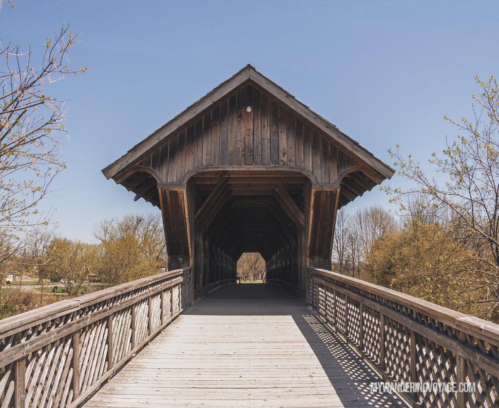 Guelph covered bridge | Best scenic bridges in Ontario