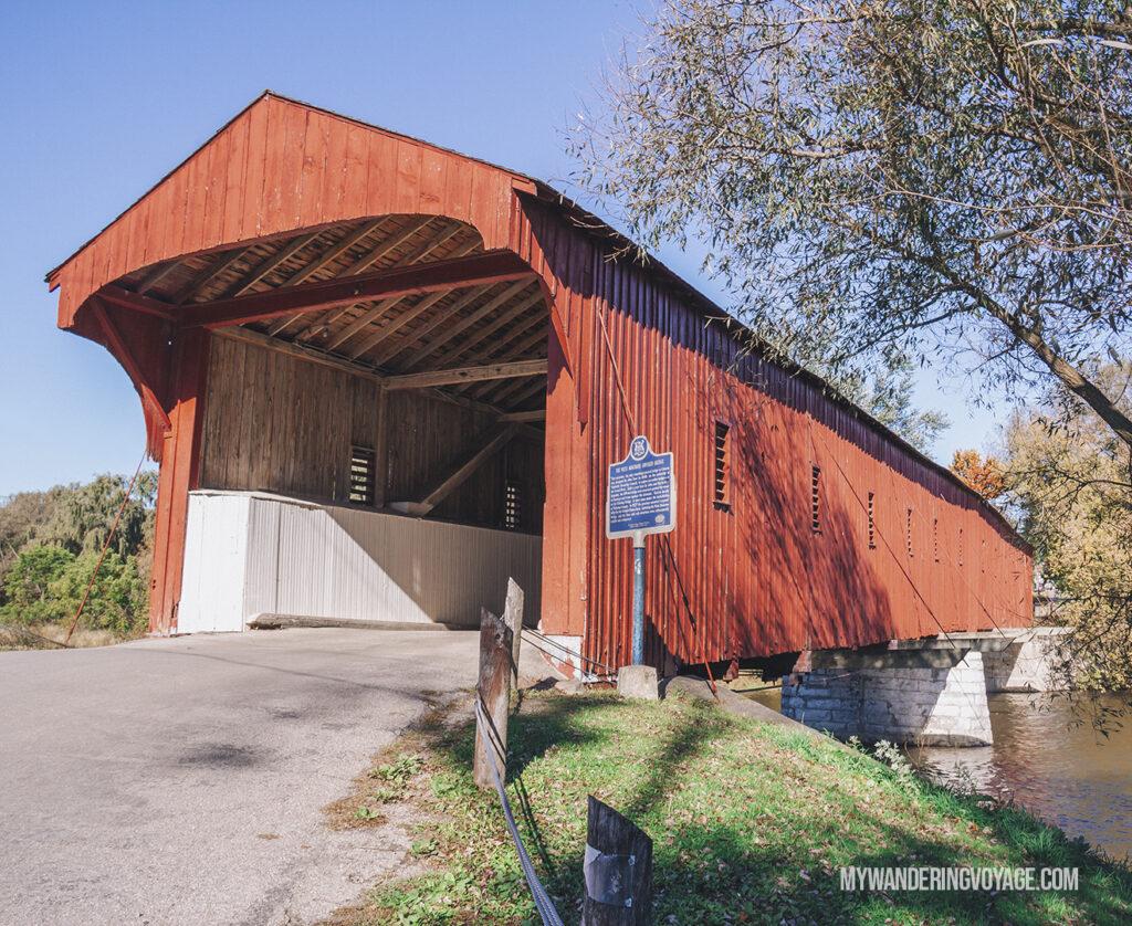 West Montrose Kissing Bridge | Best scenic bridges in Ontario