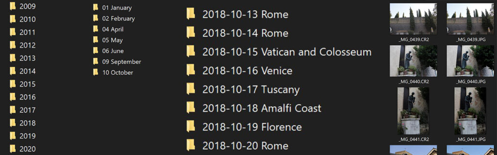 Photo Folders | Best Way to Organize Your Travel Photos | My Wandering Voyage