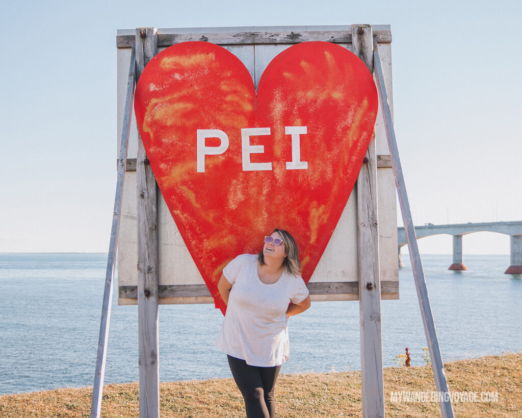 PEI sign | Canada Travel Guide | My Wandering Voyage travel blog