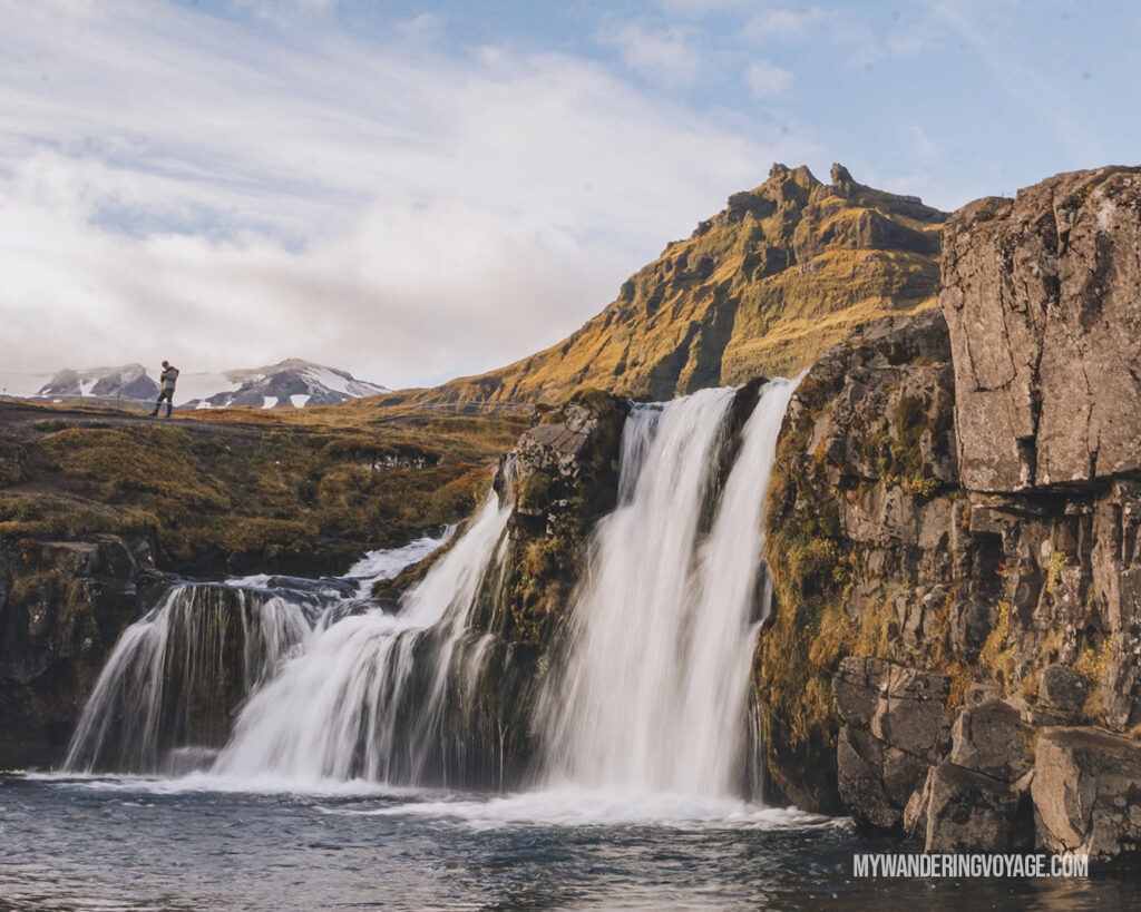 Waterfall in Iceland | Best Way to Organize Your Travel Photos | My Wandering Voyage