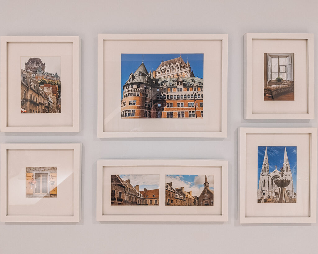 Gallery Wall | Best Way to Organize Your Travel Photos | My Wandering Voyage