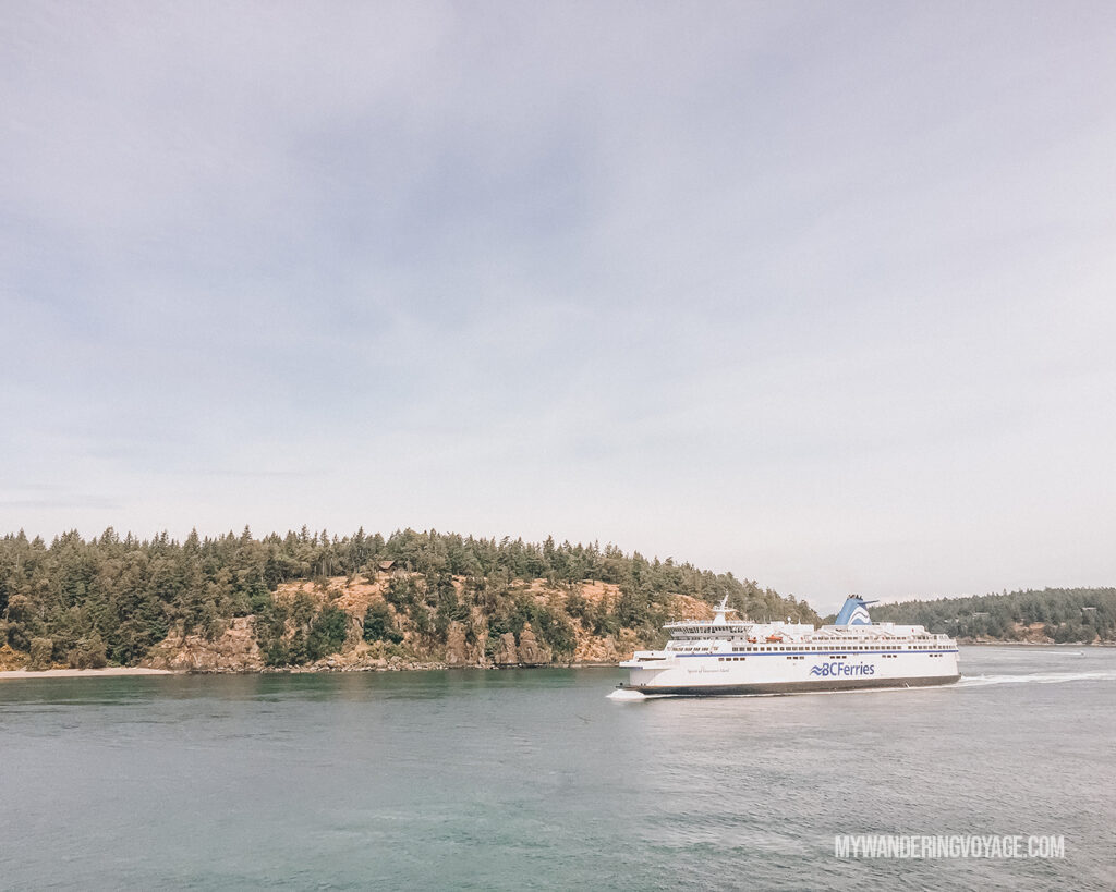 BC Ferries Vancouver Island | Vancouver Island road trip 5 day itinerary | My Wandering Voyage