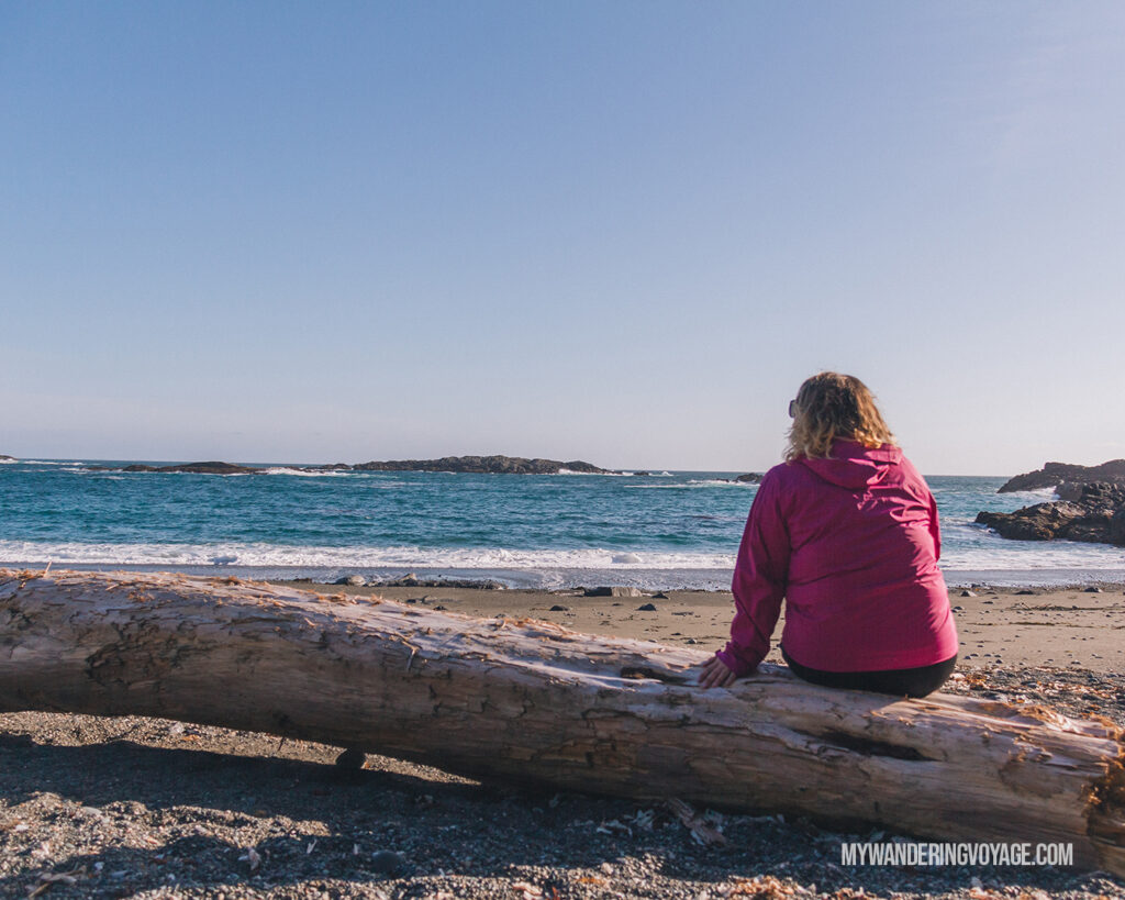 Beaches along Pacific Rim National Park BC | Vancouver Island road trip 5 day itinerary | My Wandering Voyage