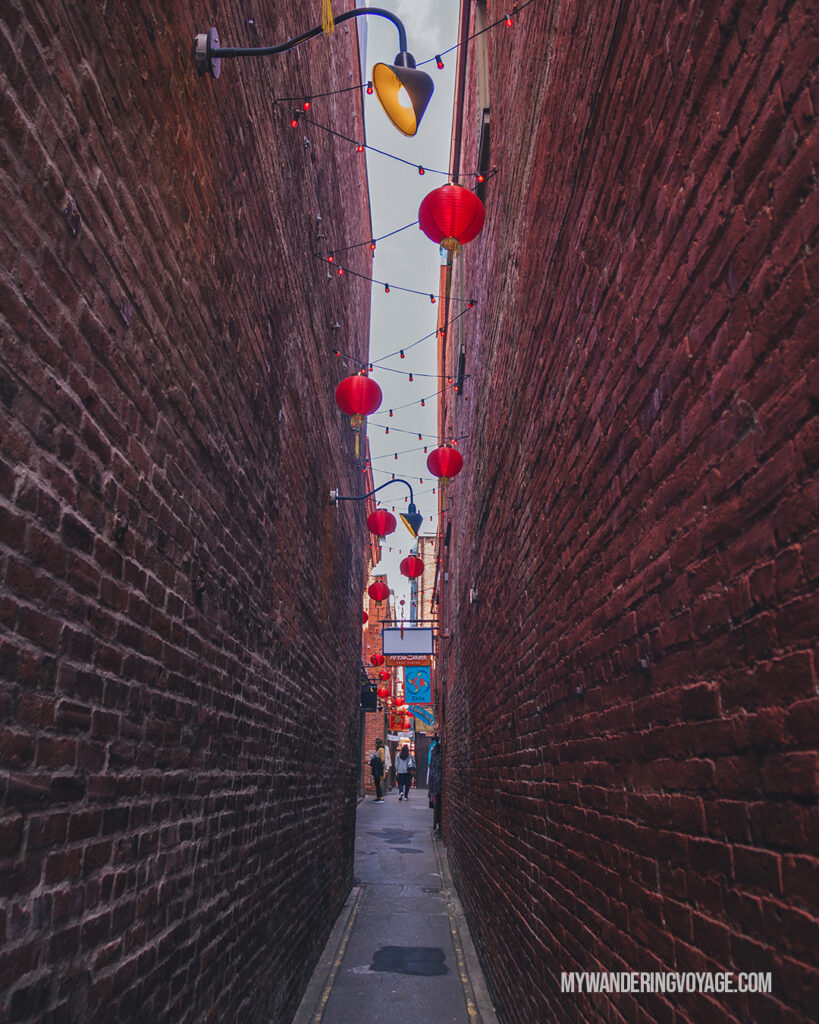 Fan Tan Alley in Victoria BC | Vancouver Island road trip 5 day itinerary | My Wandering Voyage