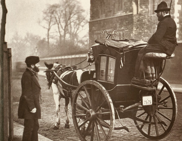 The family of Charles Courtneidge, coachman from Leatherhead, Surrey