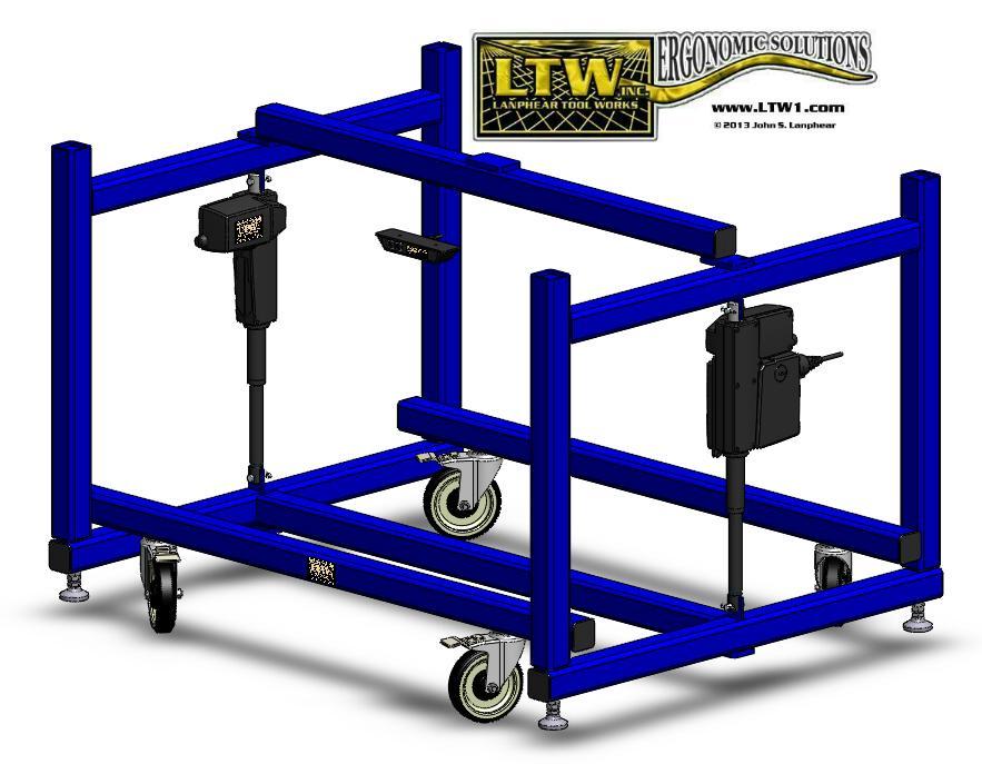 LTW Ergonomic Solutions E2 LC Industrial Base