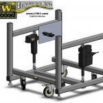 LTW, Inc. LTW Ergonomic Solutions E2 LC 8 INCH Industrial Base