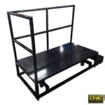 Height Adjustable Operator Lift Platform by LTW Ergonomic Solutions