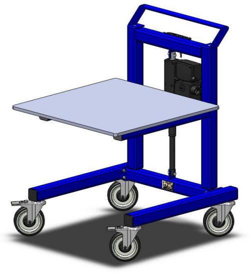 LTW Ergonomic E1 Cart Get Your Ergonomic On