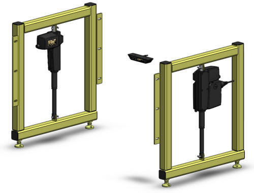 height adjustable welding retrofit kit