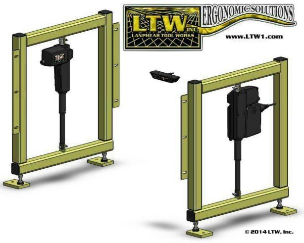 LTW, Inc. LTW Ergonomic Solutions Industrial E2 RF-Retrofit Kit