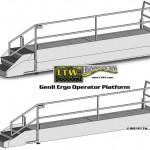 E4 Gen II Ergo Industrial Operator Lift Platform by LTW Ergonomic Solutions