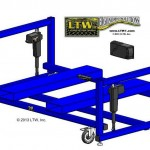 LTW, Inc. LTW Ergonomic Solutions E4 LC Industrial Base