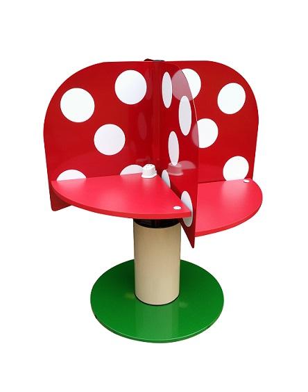 LTW Ergonomic MPrivate Mushroom Meeting Table get your ergonomic on