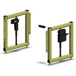 height adjustable automation retrofit kit