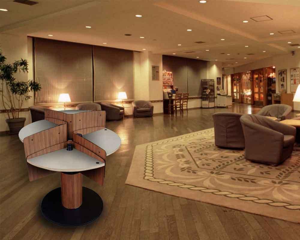 Public Standing Table for Hotel MPublic LTW Ergonomic Solutions