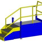 E4LC Adjustable Height Operator Lift Platform LTW Ergonomic Solutions