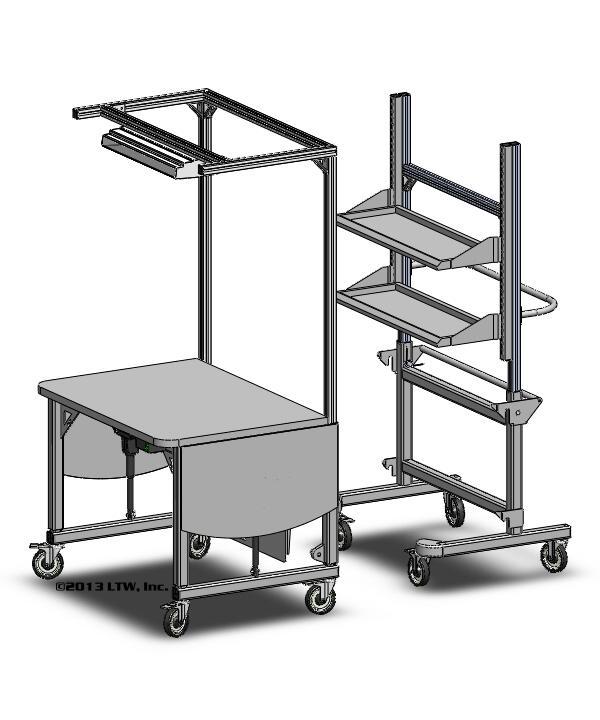 Ergonomic Rear Load Workstation LTW Ergonomic Solutions
