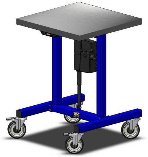 E1 Adjustable Height Table LTW Ergonomic Solutions