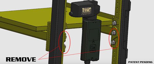 E1 RCT Cart - Rapid Change Technology Material Handling Cart - LTW Ergonomic Solutions