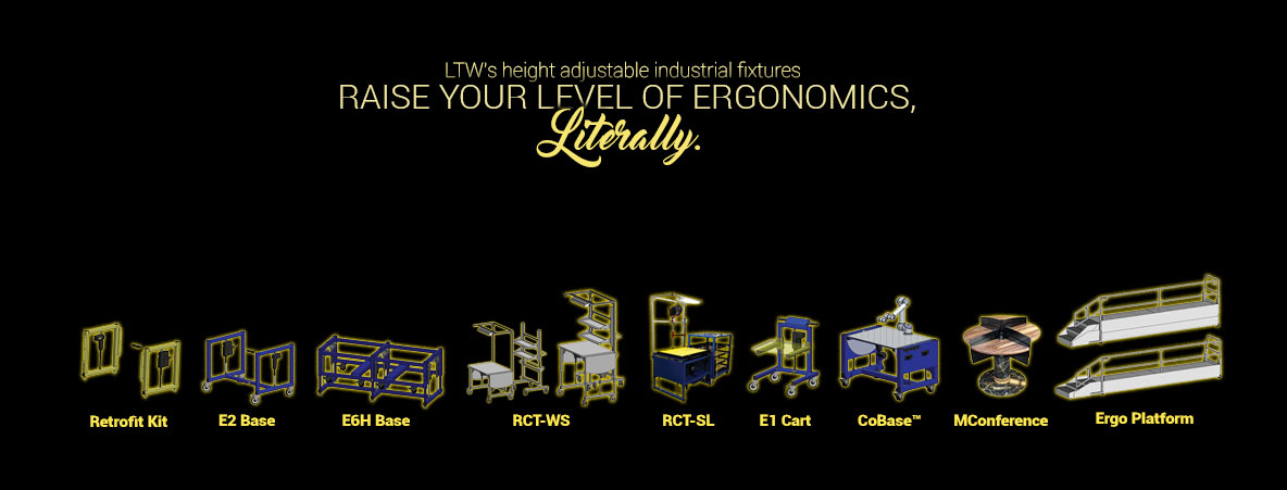 LTW Ergonomic Solutions - Raise your level of ergonomics with height adjustable workstations