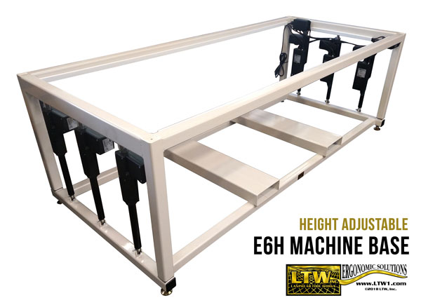 LTW, Inc. LTW Ergonomic Solutions E6H Ergo Industrial Base