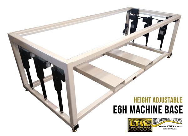 LTW, Inc. LTW Ergonomic Solutions E6H Ergo Industrial Base