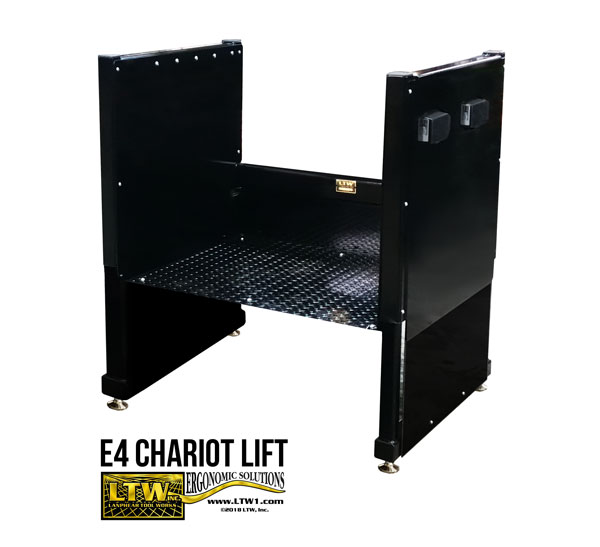 Operator Lift for Machines - Electric Operator Platform E4 Chariot