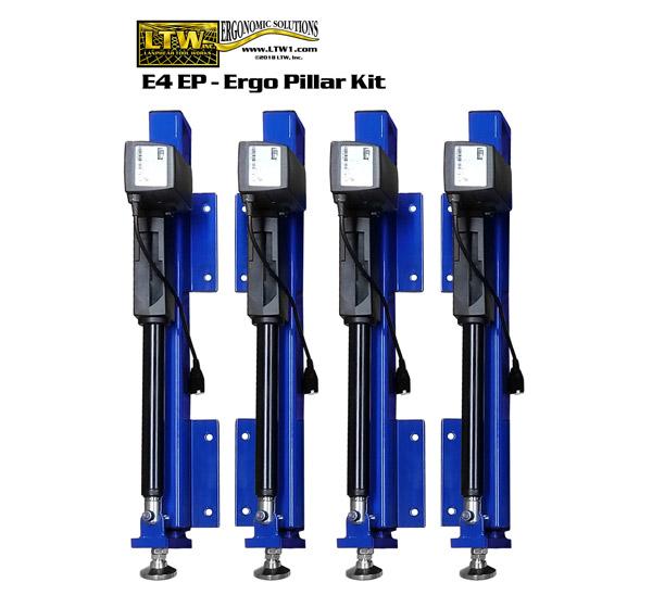 Industrial Retrofit Kit - E4EP Ergo Pillars by LTW Ergonomic Solutions