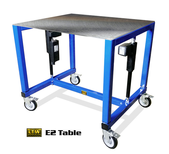 Industrial Height Adjustable Table - Adjustable Table by LTW Ergonomic Solutions