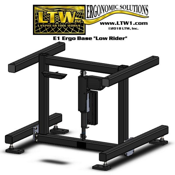LTW-E1-Ergo-Base-w-Levelers-&-LowRider-B4904-1
