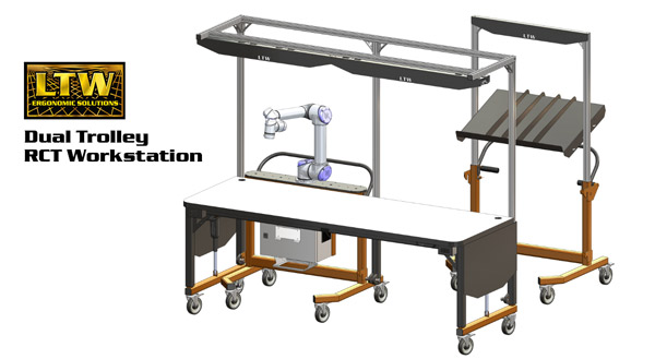 Kitting and Cobot Workstation - RCT Workstation by LTW Ergonomic Solutions