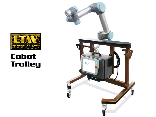 Cobot Trolley for RCT Workstation - Collaborative Robot Workstation by LTW Ergonomic Solutions