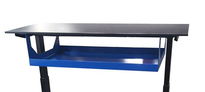 Under-Tabletop Shelf by LTW Ergonomic Solutions