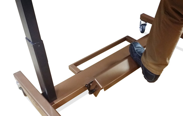 Adjustable Table Foot Rest by LTW Ergonomic Solutions
