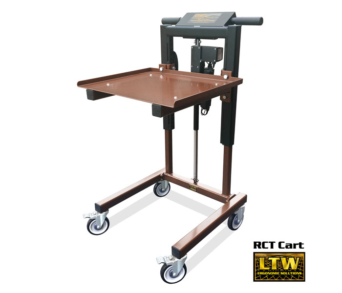 RCT Height Adjustable Material Handling Cart - LTW Ergonomic Solutions