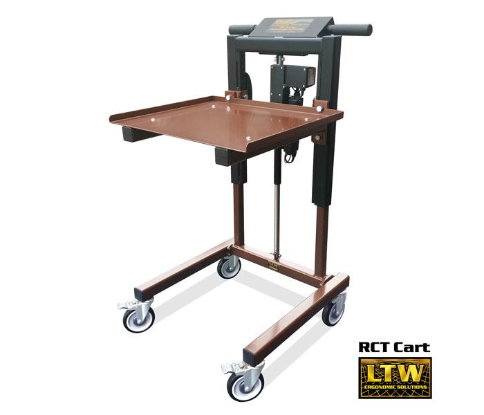 RCT Height Adjustable Material Handling Cart - LTW Ergonomic Solutions