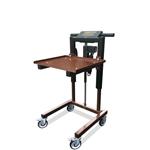 Icon-Height Adjustable Material Handling Cart by LTW Ergonomic Solutions